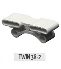 Латодержатель подвесной двойной Twin 38-2